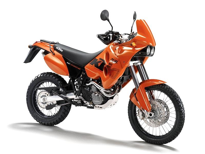 KTM 640 Adventure (1997 - 2007) motorcycle