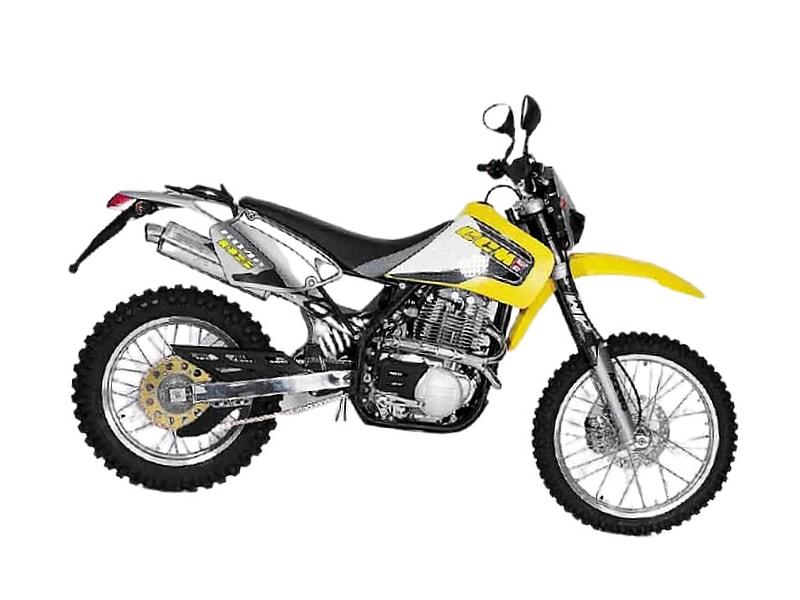 CCM 604 Dual Sport (1998 - 2002) motorcycle