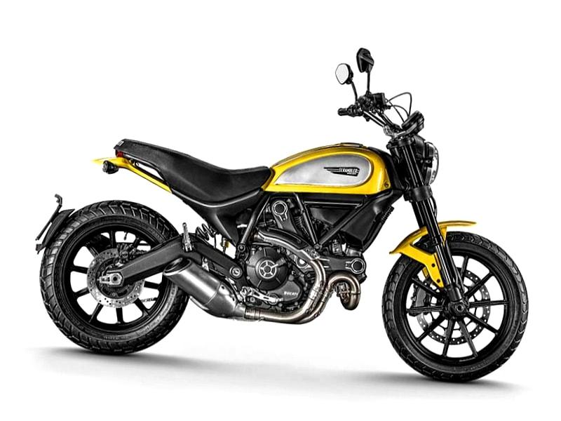 Ducati Scrambler 800 (2015 onwards) motorcycle